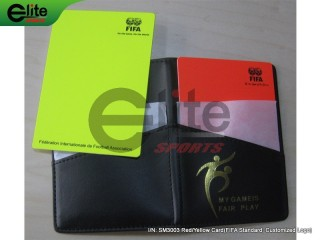 SM3003-Red/Yellow Card,FIFA Standard,Customized Logo