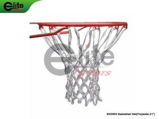 BN2004-Baseketball Net,Polyester,12 Hooks,7 Sections