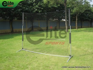 LR2002-Lacrosse Backstop,Steel,8'x7'