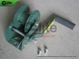 TE1008-Tennis Post Reels,External Winder,Steel,Green