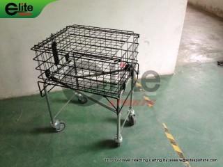 TE1012-Tennis Teaching,Travel Cart,Tennis Ball Cart,Collapsible,holds 225balls