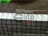 TN2330-Tennis Net,3.0mm Braided Netting,Handmade,Double
