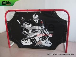 HS1012-Hockey Goal Set,Steel,target shoot