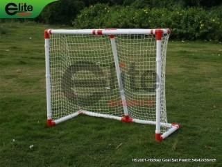 HS2001-Hockey Goal Set,Plastic,54x42x36inch