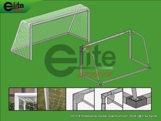 SS1018-Professional Soccer Goal,Aluminum,24'x8'