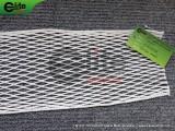 LM1011-Lacrosse Goalie Mesh,17 Diamond,White,Polyester