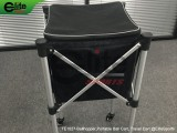 TE1027-Tennis Ballhopper, Portable Ball Cart, Travel Cart